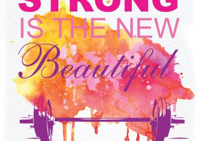 strong new beautiful