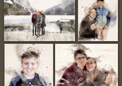 4 images together